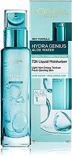 L'Oréal Paris Hydra Genius Aloe Water 72H Liquid Moisturizer, 70 ml