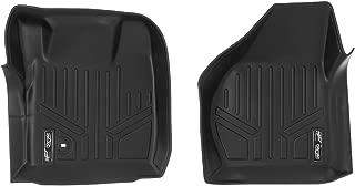 MAXLINER Floor Mats 1st Row Liner Set Black for 2008-2010 Ford F-250 / F-350 / F-450 / F-550 Super Duty (All Models)