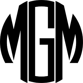 Best large iron on monogram letters Reviews