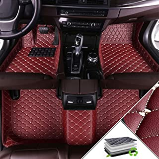 Custom Car Floor Mats For Hyundai Santa Fe 2020 All Weather Waterproof Non-slip Full Covered Protection Advanced Performan...