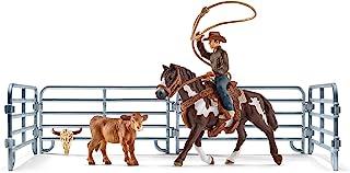 Schleich SC41418 Team Roping with Cowboy Playset