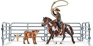 SCHLEICH Team Roping with Cowboy