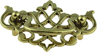 Chippendale Satin Brass Drawer Bail Pull Handle 2-1/2
