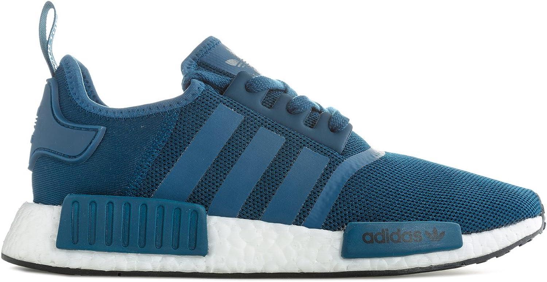 Adidas Mens Originals NMD_R1 Trainer in Night bluee