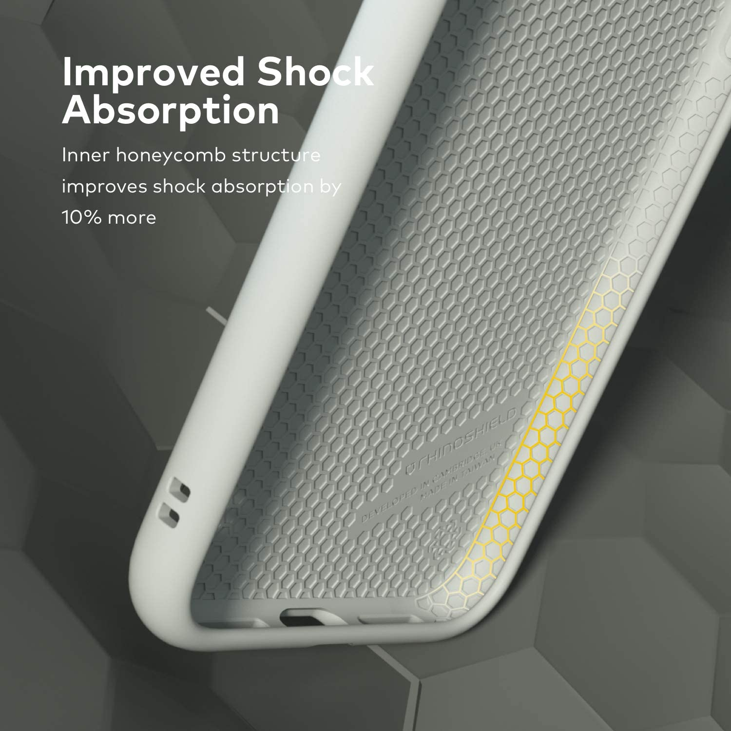 RhinoShield Case Compatible with [iPhone 11] | SolidSuit - Shock Absorbent Slim Design Protective Cover with Premium Matte Finish 3.5M / 11ft Drop Protection - Beige
