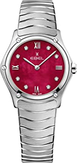 EBEL Ladies 1216487A Sport Classic & Stainless Steel Swiss Quartz Watch