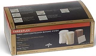 Medline MSC4300 Three-Flex Bandage System, 3-Layer (Pack of 8)
