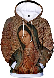 Our Lady of Guadalupe Unisex Printed Pullover Hoodie
