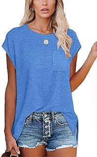 Femme Off épaule femme maman Boss Imprimé HI LO Lagenlook Baggy T-shirt Top