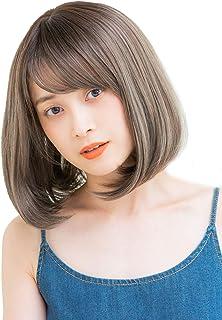 [リネアストリア] ウィッグ フルウィッグ ショート ボブ 10カラー 前髪3パターン Mサイズ「HEART BEATボブ」