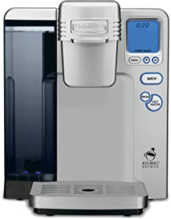Cuisinart SS-700 Single Serve Brewing System, Silver - Powered by Keurig (Renewed)