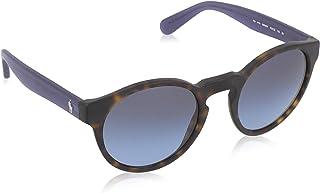 رالف لورين نظارة شمسية للجنسين ، عدسات ذات لون ازرق