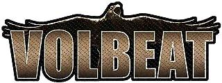 Volbeat Raven Logo Cut Out Aufnäher