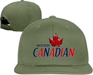 Baseball cap hip hop hat Molson Premium Lager hat White (5 colors)