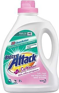 Biozet Attack Plus Softener Liquid Detergent, 2 liters
