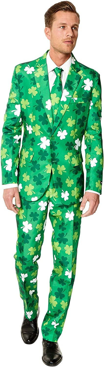OppoSuit Suitmeister St. Patricks Day Medium Max 86% OFF Clovers Suit Outlet sale feature Vega
