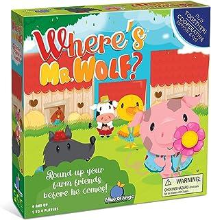 Where's Mr Wolf? Cooperative Kids Game