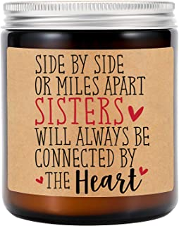 شموع معطرة برائحة اللافندر من جي إس بي واي - هدايا الأخوات من الأخت - هدايا الأخت - هدايا الأخت - هدايا الأخت - عيد الحب ا...