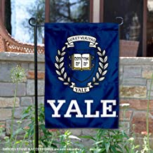 College Flags and Banners Co. Yale Bulldogs Coat of Arms Garden Flag