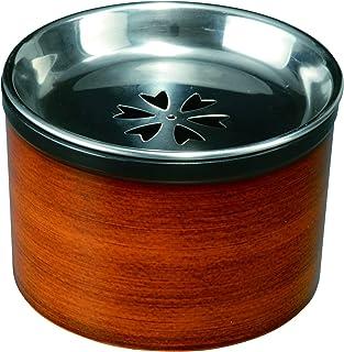 山家漆器店 茶こぼし(大)(蓋はステンレス製) 杢目 紀州漆器