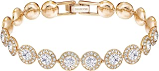 Swarovski Women's Angelic Crystal Jewelry Collection, Rose Gold & Gold Tone Finish
