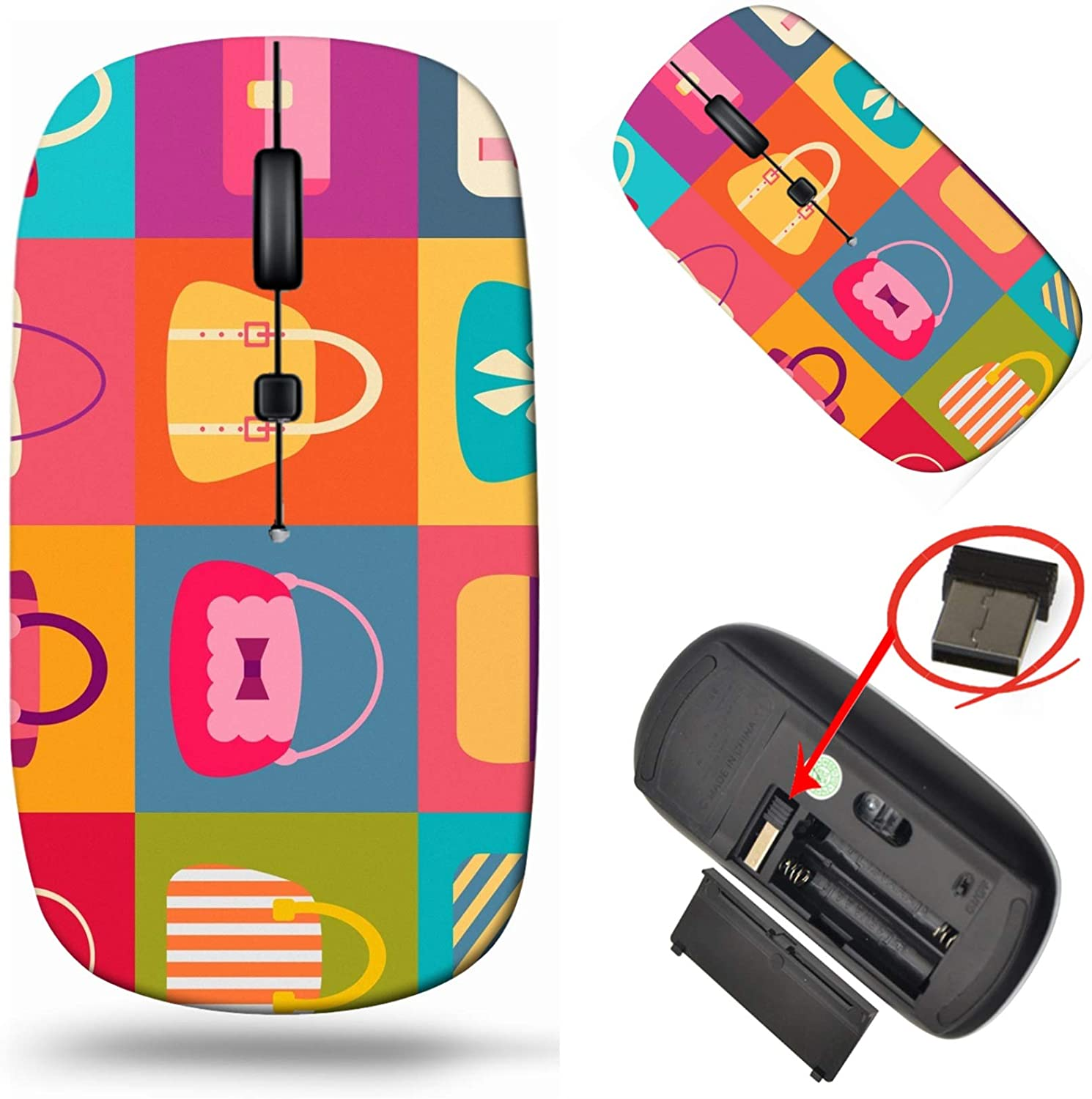 MSD Wireless Max 65% OFF Mouse Laptop 2.4G Classic Travel Mice USB with Receiv