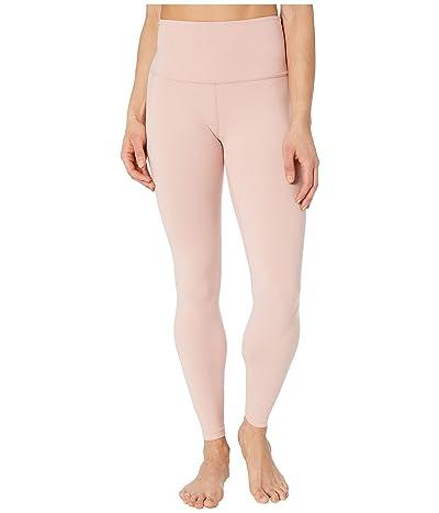 Beyond Yoga High Waisted Midi Leggings (Tinted Rose) Women