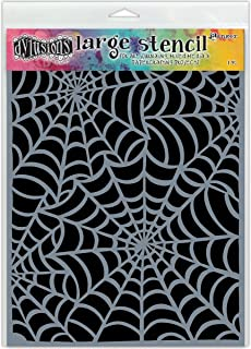 """Dylusions By Dyan Reaveley - Stencils 9""""x12"""" Cobwebs Large"""