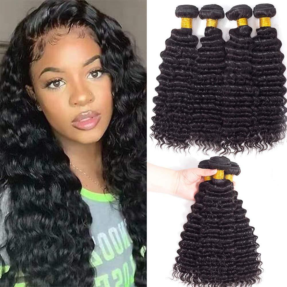 Shimei Hair Deep Wave Human Bundles 18 Braz Ranking TOP19 20 Outstanding 14 16 inches