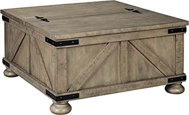 Signature Design by Ashley - Aldwin Coffee Table with Lift Top, Gray
