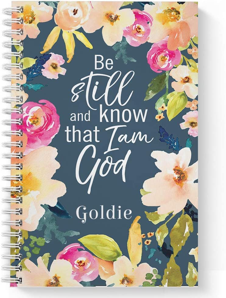 Be Still Personalized Religious Laminated Ranking TOP15 Journal Max 48% OFF Notebook Soft