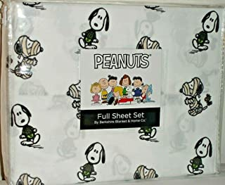 Peanuts Snoopy & Woodstock in Halloween Costumes Full Sheet Set by Berkshire