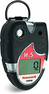 Honeywell Analytics 54-45-02VD ToxiPro Polycarbonate Hydrogen Sulfide (H2S) Single-Gas Detector, 0-200 ppm Measuring Range