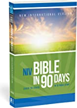 NIV, Bible in 90 Days, Paperback: Cover to Cover in 12 Pages a Day