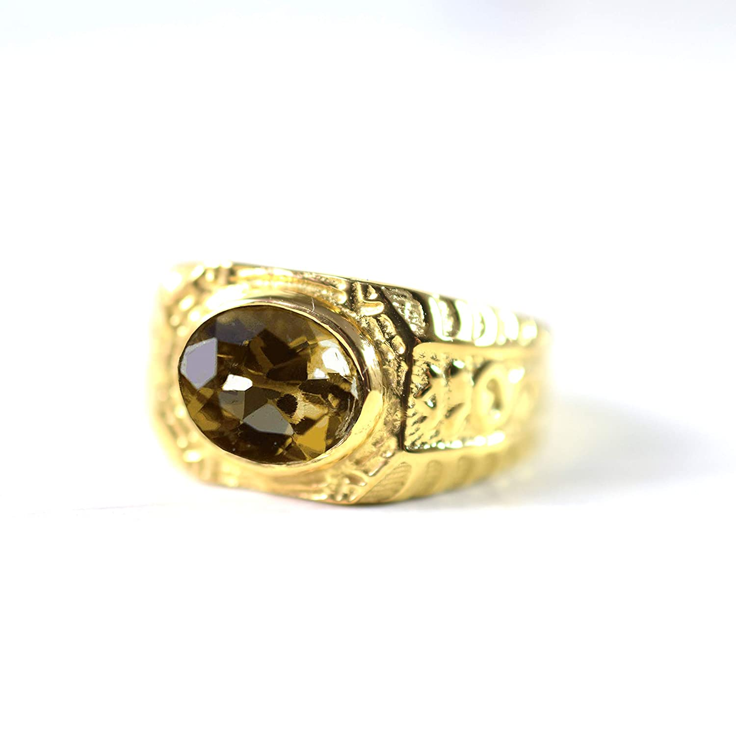 Natural Citrine 925 Sterling Yellow Gold Silver Jewelry San Diego Mall Selling rankings