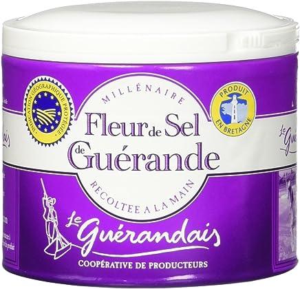 Guerande Fleur De Sel Sea Salt,4.4 oz, ...