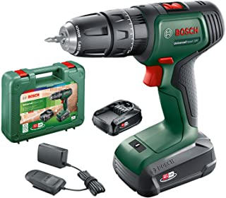 Bosch 06039D4171 Cordless Hammer Drill UniversalImpact 18 V (2 batteries, 18 Volt System, in carrying case)
