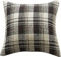 "HANGOOD Decorative Throw Pillow Covers Cases Cushion Covers 18x18 inch Christmas Xmas 45cm x 45cm Set of 4pcs 20""x20"" Black"