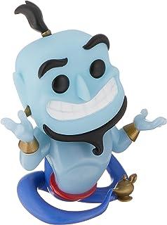 Funko Pop! Disney: Aladdin – Genie con lámpara (brillante).