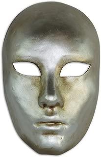 Magic of Venezia Venetian Full Face Mask Volto Metallo for Men and Women