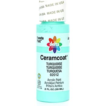 Delta Creative Ceramcoat Acrylic Paint in Assorted Colors (2 oz), 2012, Turquoise