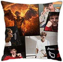 ZAZAHUI Custom Soft Pillow Case& Polyester Square Zippered Cushion Throw Case Decorative Pillow Case (Twin Sides) One Size