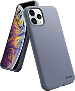 iPhone 11 Pro Max, Ringke Case, TPU Liquid, Air-S Designed Cover, Lavender Gray