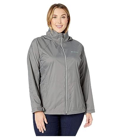 Columbia Plus Size Switchback III Jacket (City Grey) Women