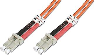 DIGITUS LWL patchkabel OM2-5 m LC naar LC glasvezel kabel - LSZH - Duplex Multimode 50/125µ - 10 GBit/s - Oranje