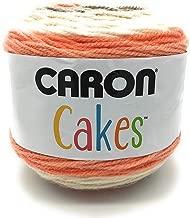 Caron Cake Self Striping Yarn 1 Ball Strawberry Trifle 7.1 ounces