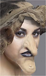 Flesh Witch Nose and Chin Set Latex Prosthetic Appliance.