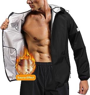 Traje de sauna Traje de gimnasia traje de sauna de alta resistencia Traje de p/érdida de peso en gimnasia Ropa de entrenamiento calor/ías quemadas Traje de sauna s/úper r/ápido sudoraci/ón intensa