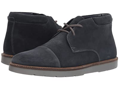 Clarks Grandin Top (Navy Suede) Men