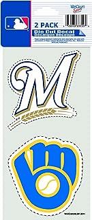 MLB Milwaukee Brewers Quad Decal